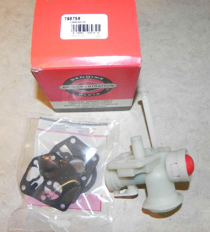 Briggs Stratton Carburetor Part No. 798758