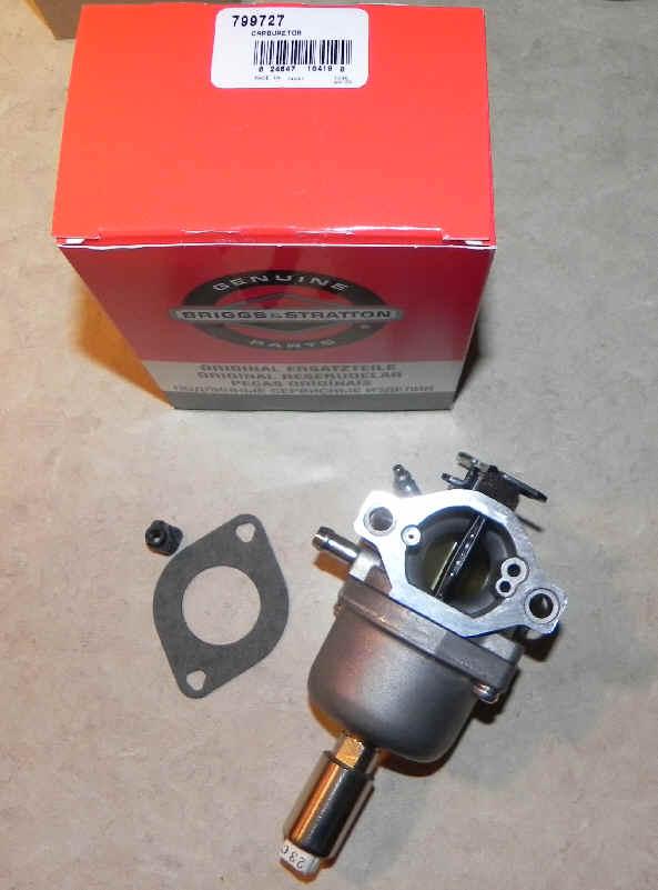 Briggs Stratton Carburetor Part No. 799727