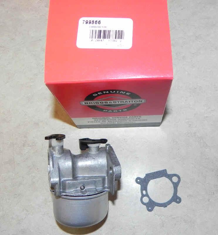 Briggs Stratton Carburetor Part No. 799866