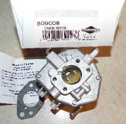 Briggs Stratton Carburetor Part No. 809008