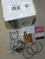Briggs Stratton Piston and Connecting Rod Part No. 844009