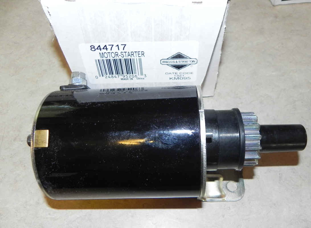Briggs & Stratton Electric Starter Part No. 844717