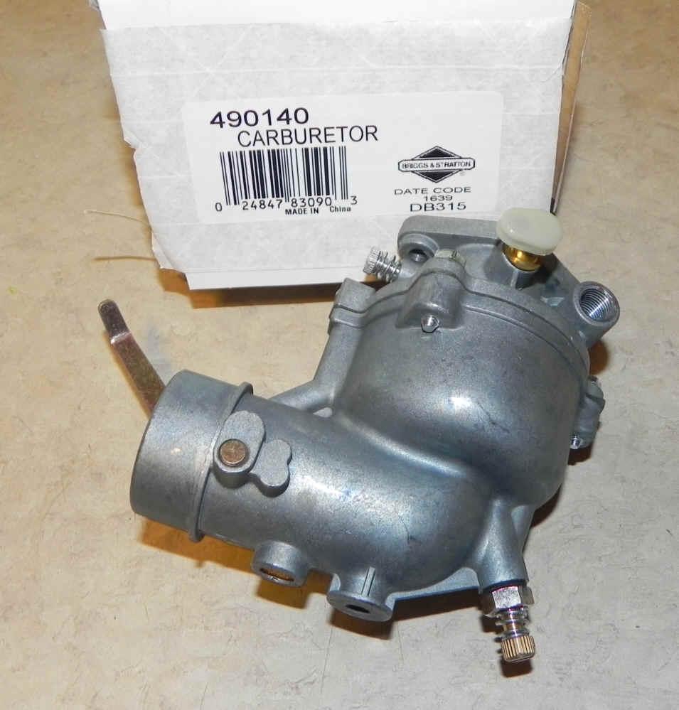 Briggs Stratton Carburetor Part No. 490140