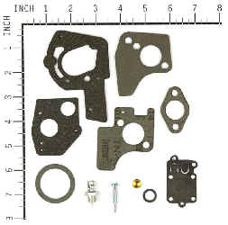 Briggs Stratton Carburetor Overhaul Kit Part No. 495606