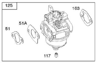 Briggs Stratton Carburetor Part No. 592236