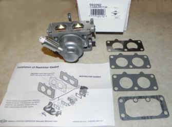 Briggs Stratton Carburetor Part No. 593392
