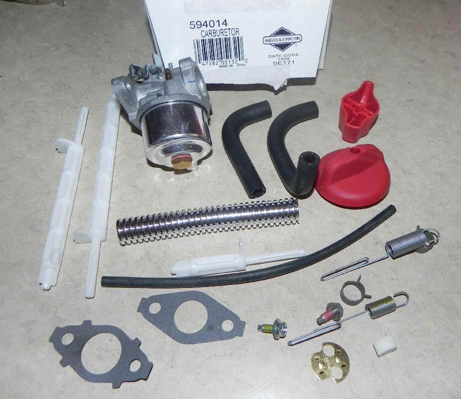 Briggs Stratton Carburetor Part No. 594014