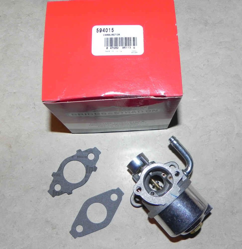 Briggs Stratton Carburetor Part No. 594015