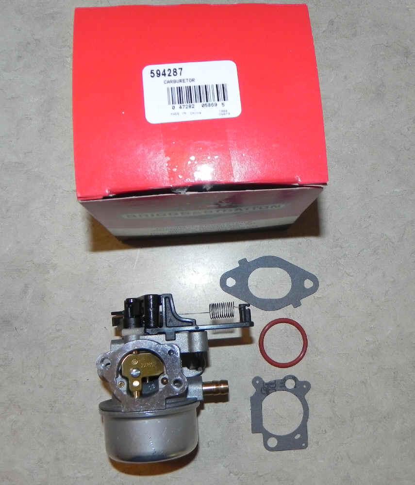 Briggs Stratton Carburetor Part No. 594287