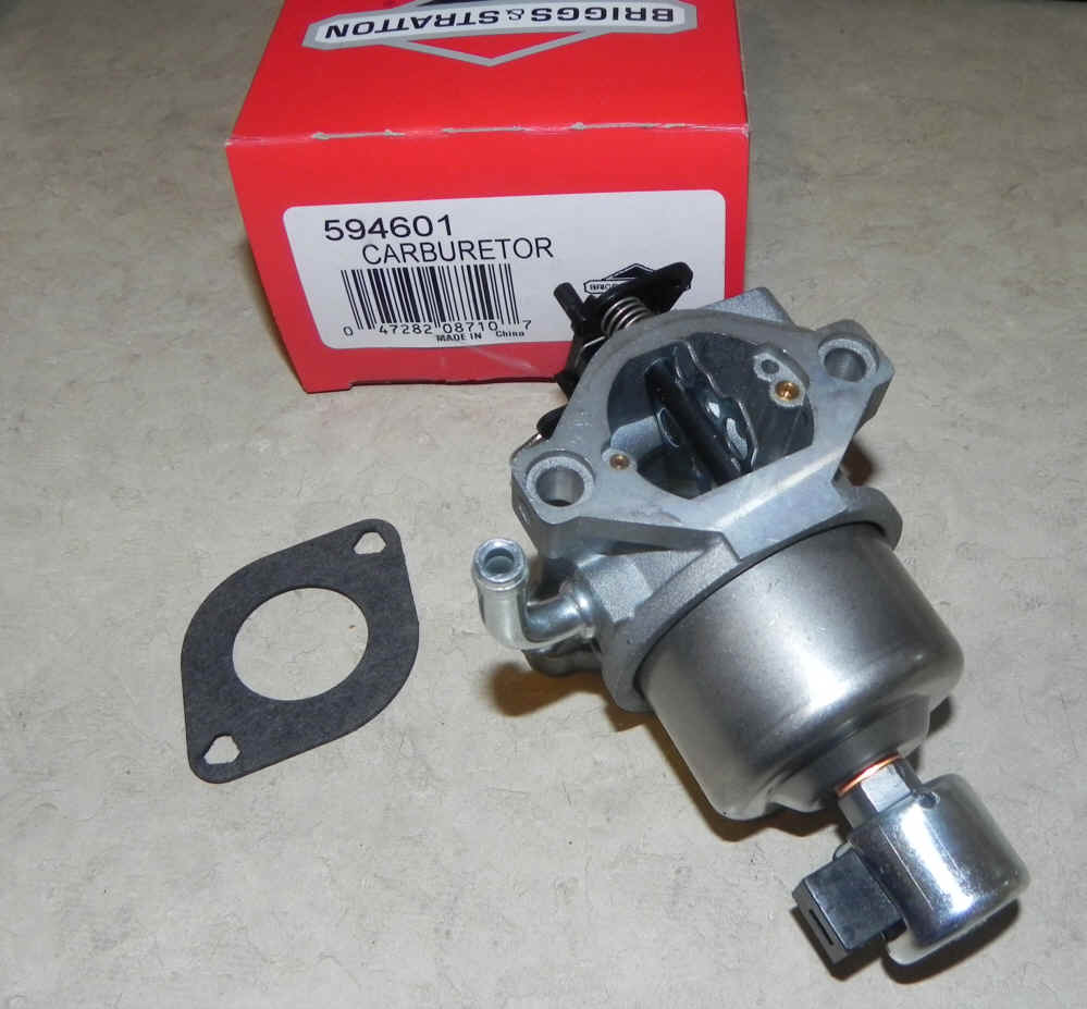 Briggs Stratton Carburetor Part No. 594601