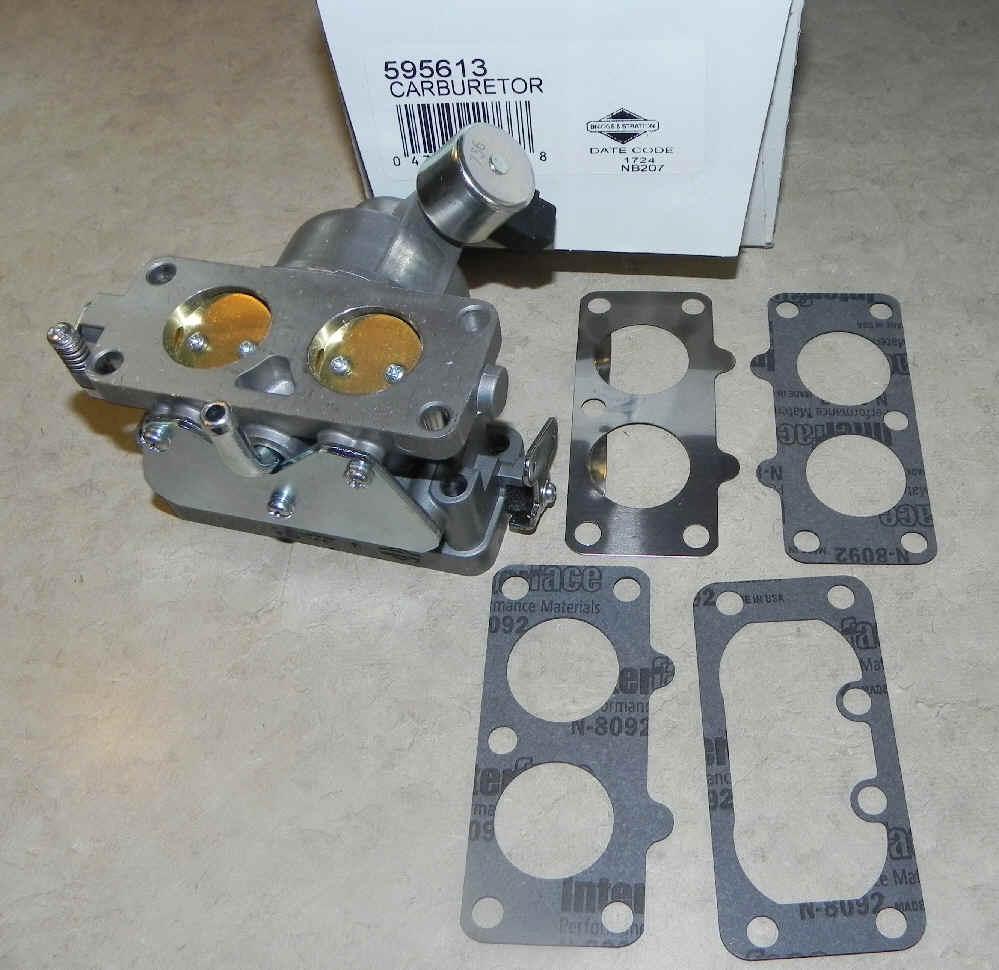 Briggs Stratton Carburetor Part No. 595613