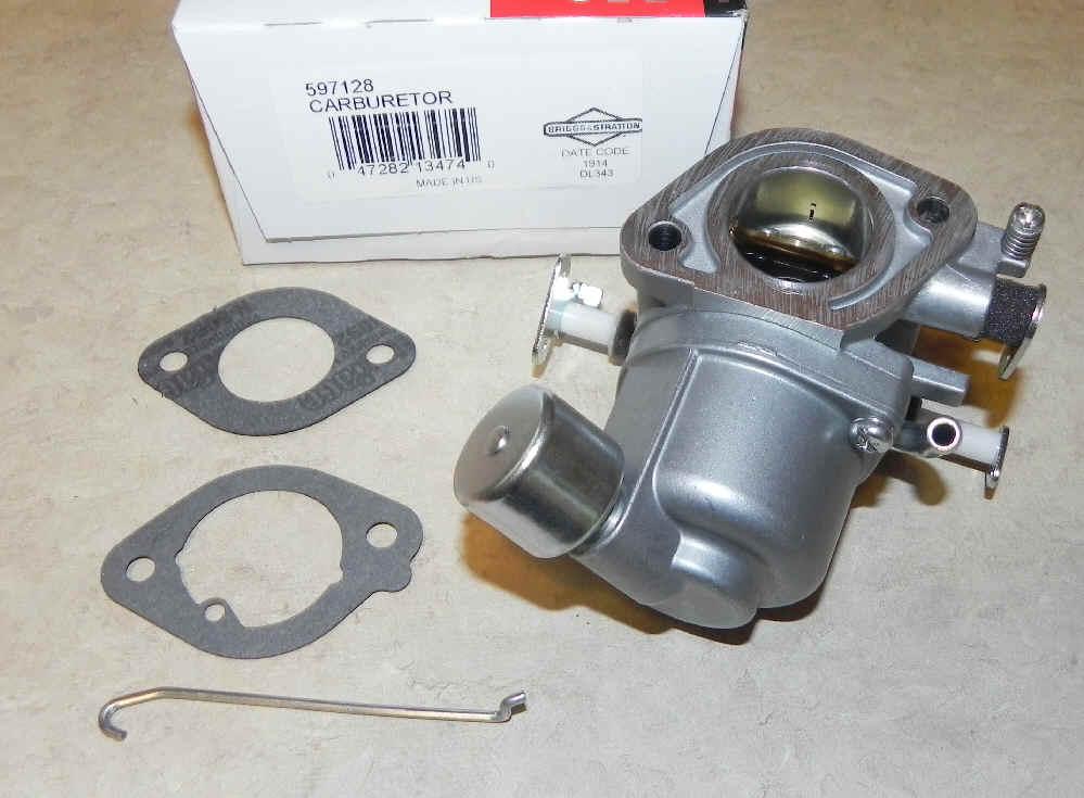Briggs Stratton Carburetor Part No. 597128