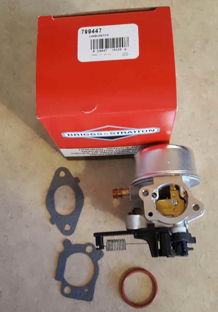 Briggs Stratton Carburetor Part No. 799447