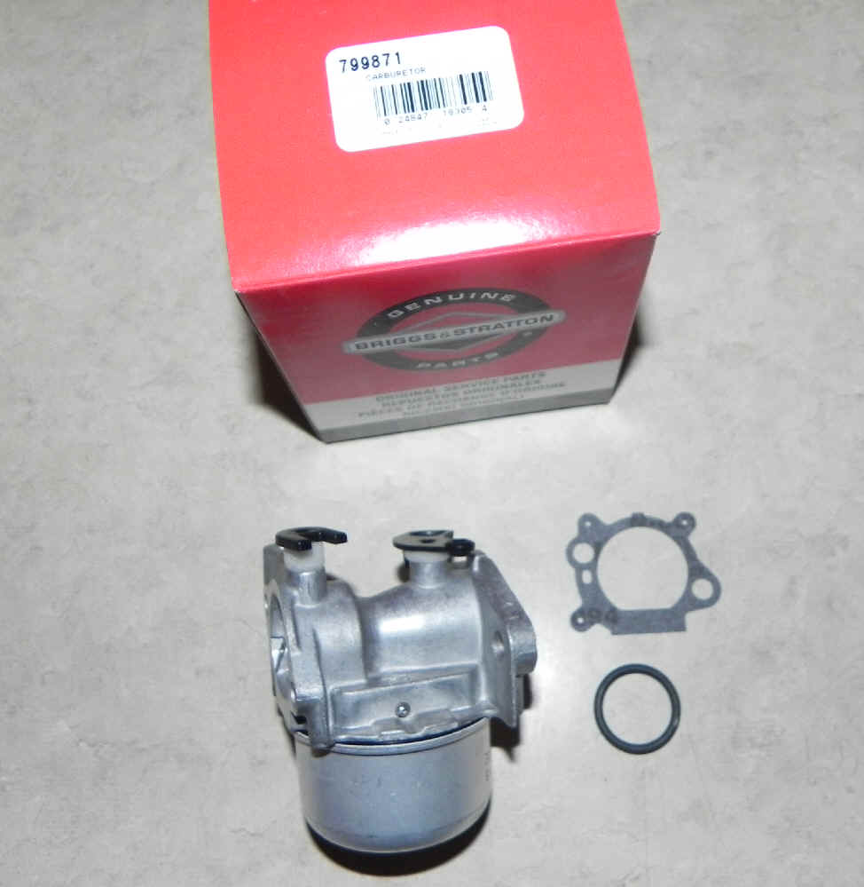 Briggs Stratton Carburetor Part No. 799871