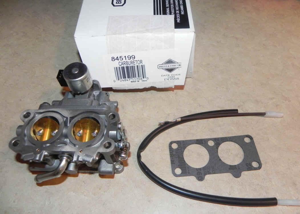Briggs Stratton Carburetor Part No. 845199