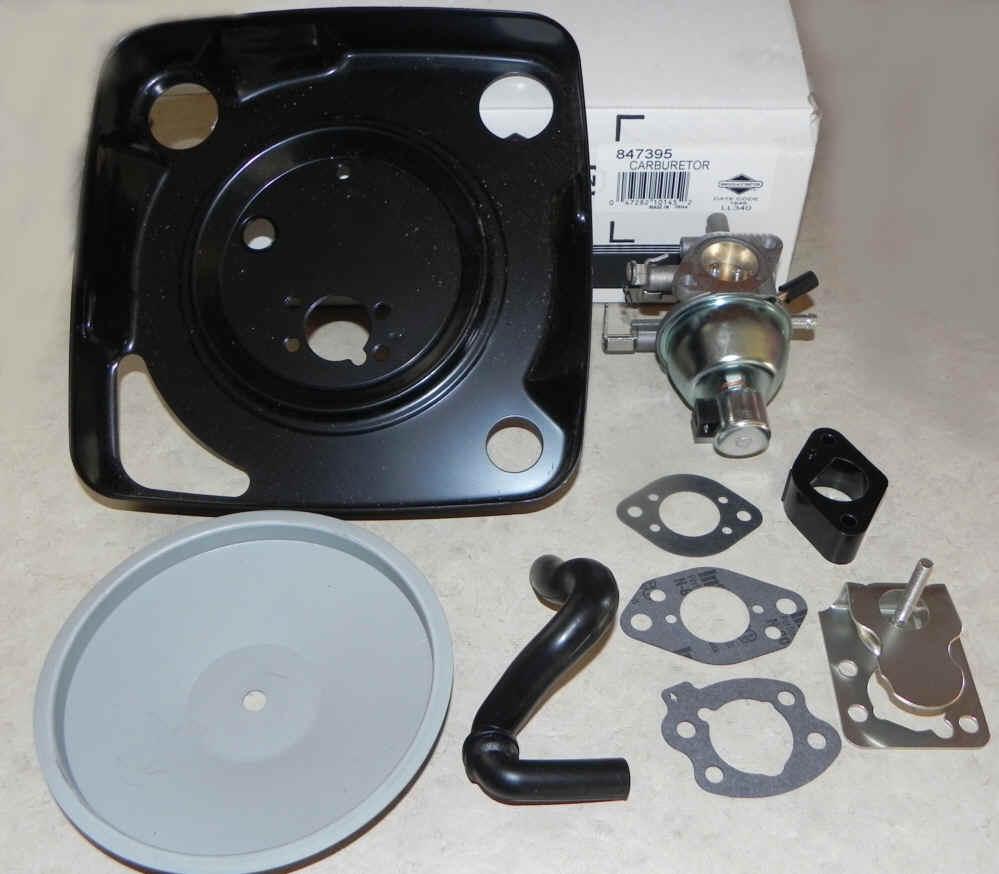 Briggs Stratton Carburetor Part No. 847395 FKA 846280