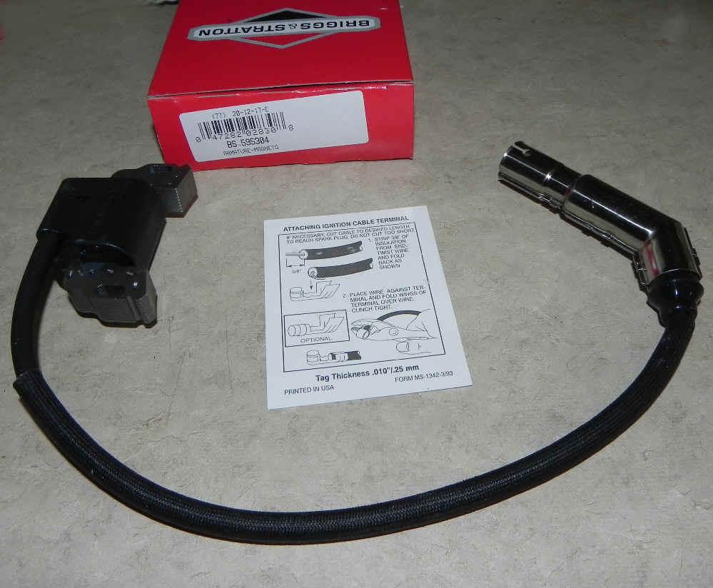 Briggs & Stratton Ignition Coil Part No. 595304 fka 799650