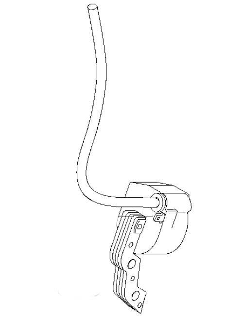 Briggs & Stratton Ignition Coil Part No. 711197