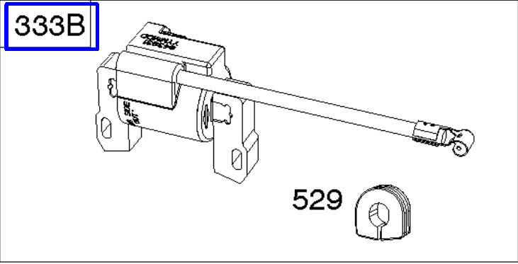 Briggs & Stratton Ignition Coil Part No. 845731