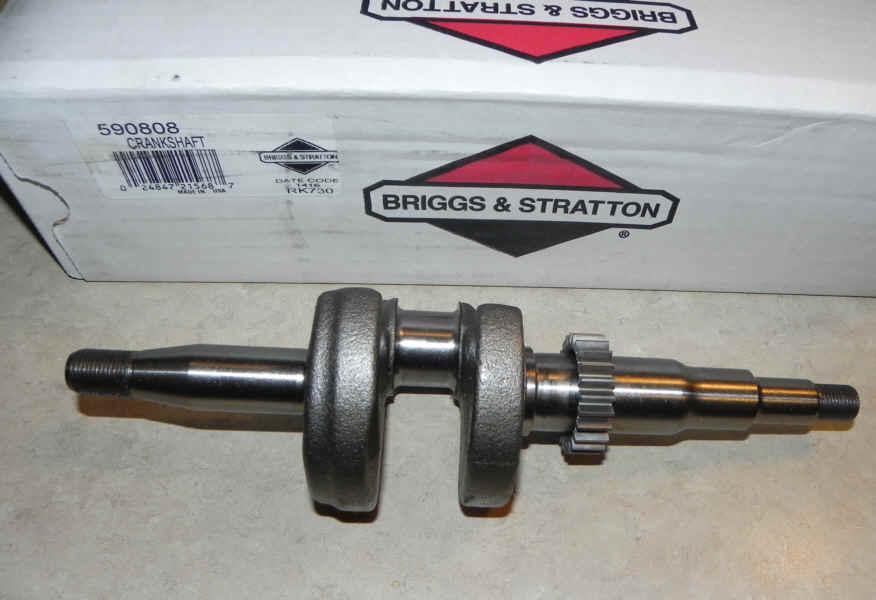 Briggs Stratton Crankshaft Part No. 590808