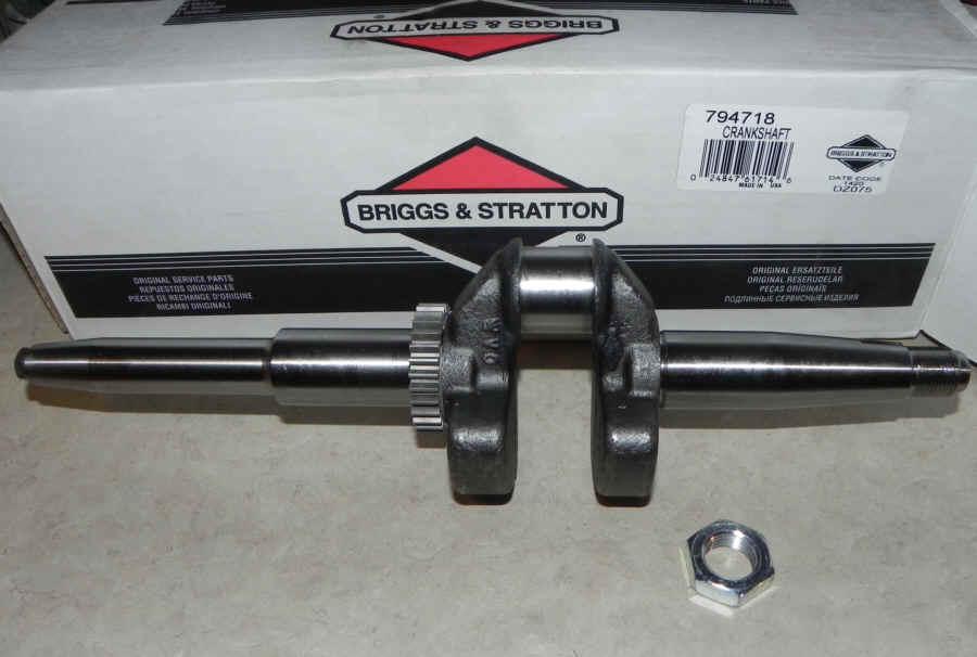 New Briggs /& Stratton Crankshaft 794717