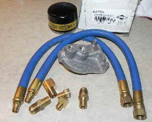 Briggs & Stratton Remote Oil Filter Kit Part No 492061