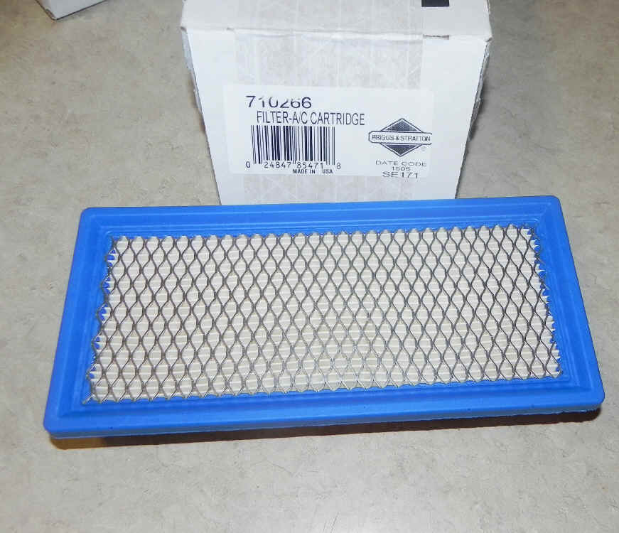 Briggs & Stratton Air Filters Part No. 710266
