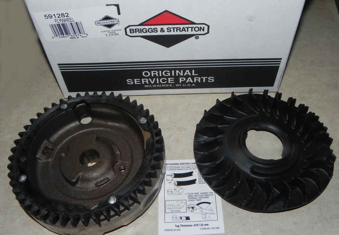 Briggs Stratton Flywheel Part No. 591282