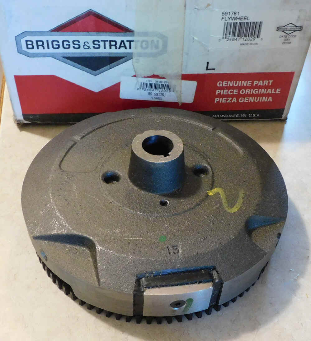 Briggs Stratton Flywheel Part No. 591760