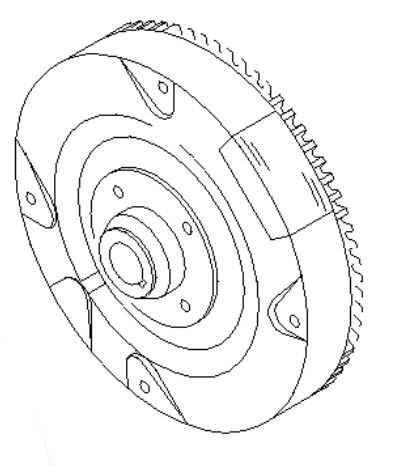 Briggs Stratton Flywheel Part No. 699516
