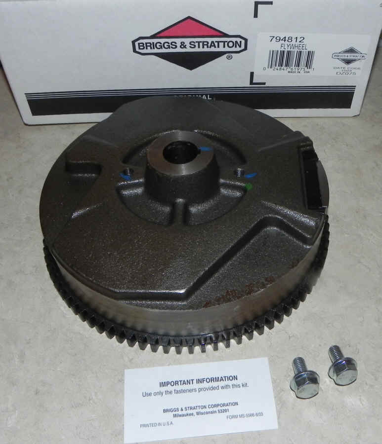 Briggs Stratton Flywheel Part No. 794812