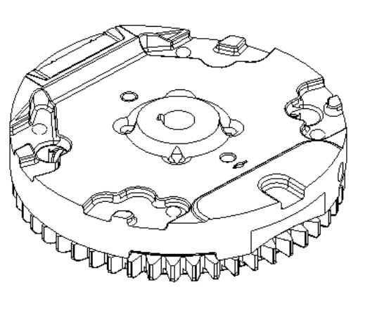 Briggs Stratton Flywheel Part No. 796621