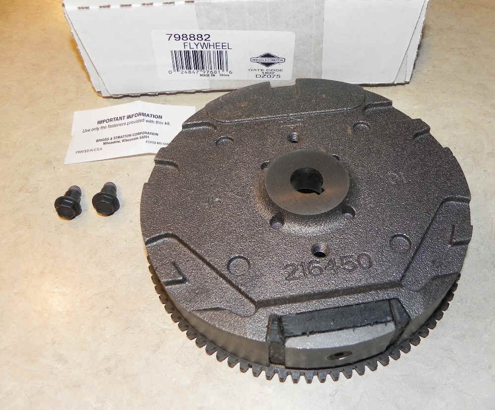 Briggs Stratton Flywheel Part No. 798882