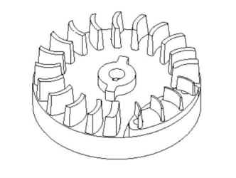 Briggs Stratton Flywheel Part No. 799682