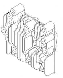Briggs Stratton Cylinder Head Part No. 590411