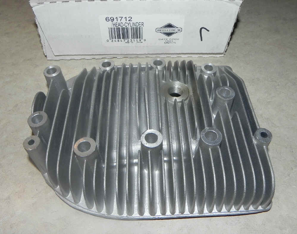 Briggs Stratton Cylinder Head Part No. 691712