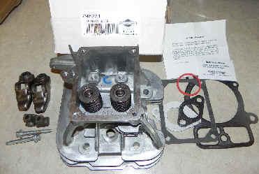 Briggs Stratton Cylinder Head Part No. 84001918 FKA 796231