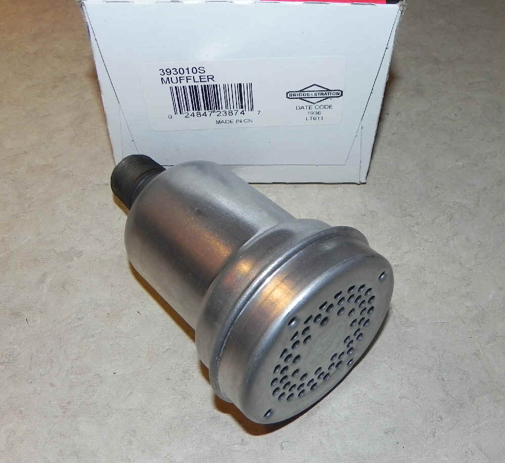 Briggs Stratton Muffler Part No. 393010S