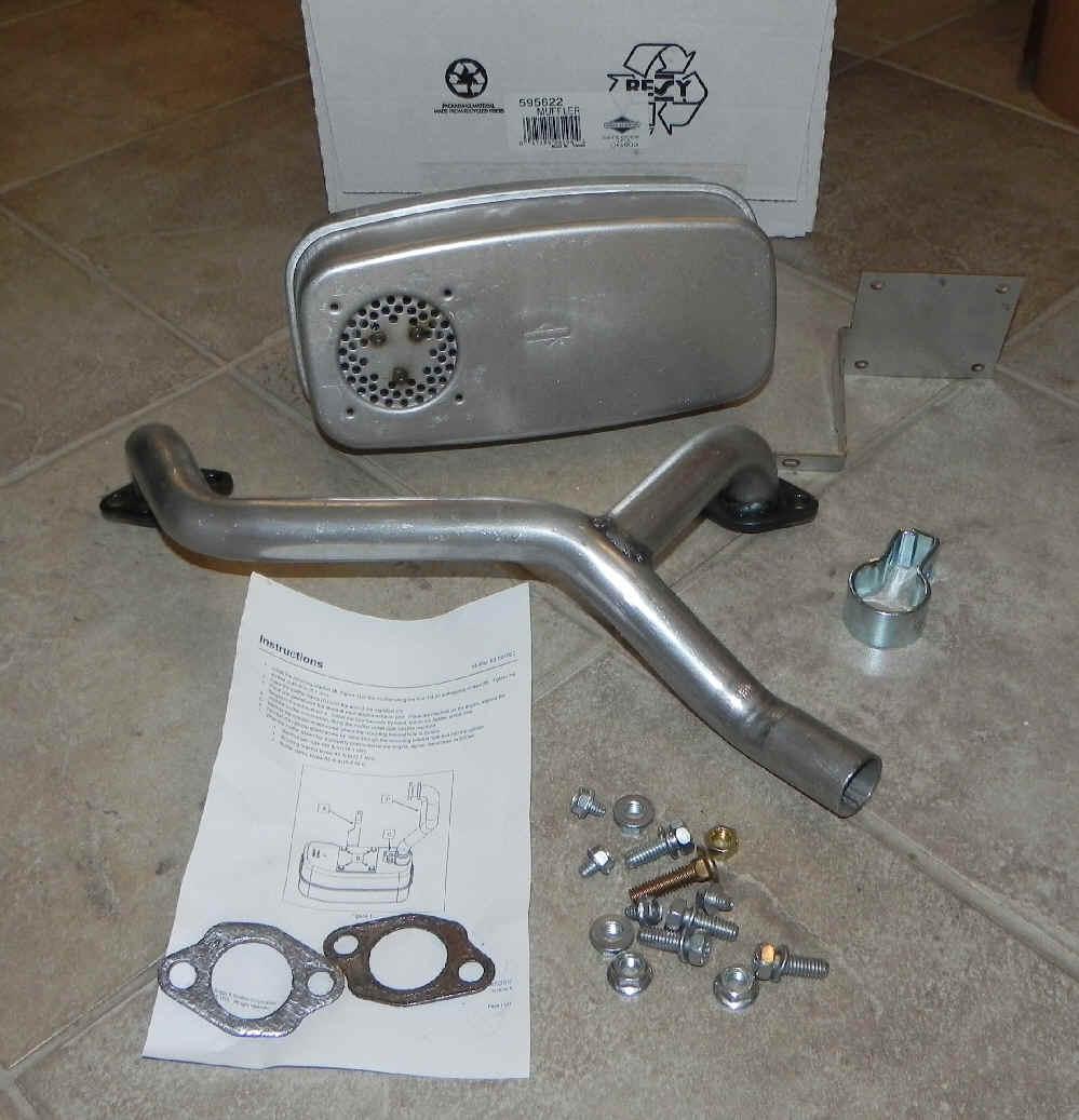 Briggs Stratton Muffler Kit Part No. 595822