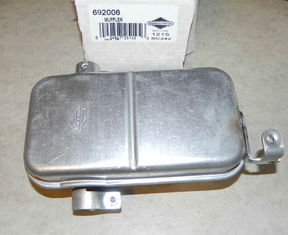 Briggs Stratton Mufflers For Small Engines And 92900 Series Parts List Diagram Muffler Part No 692006
