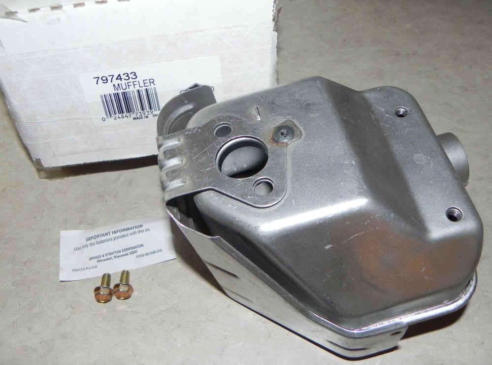 Briggs Stratton Muffler Part No. 797433