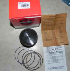 Briggs Stratton Piston Part No. 590404