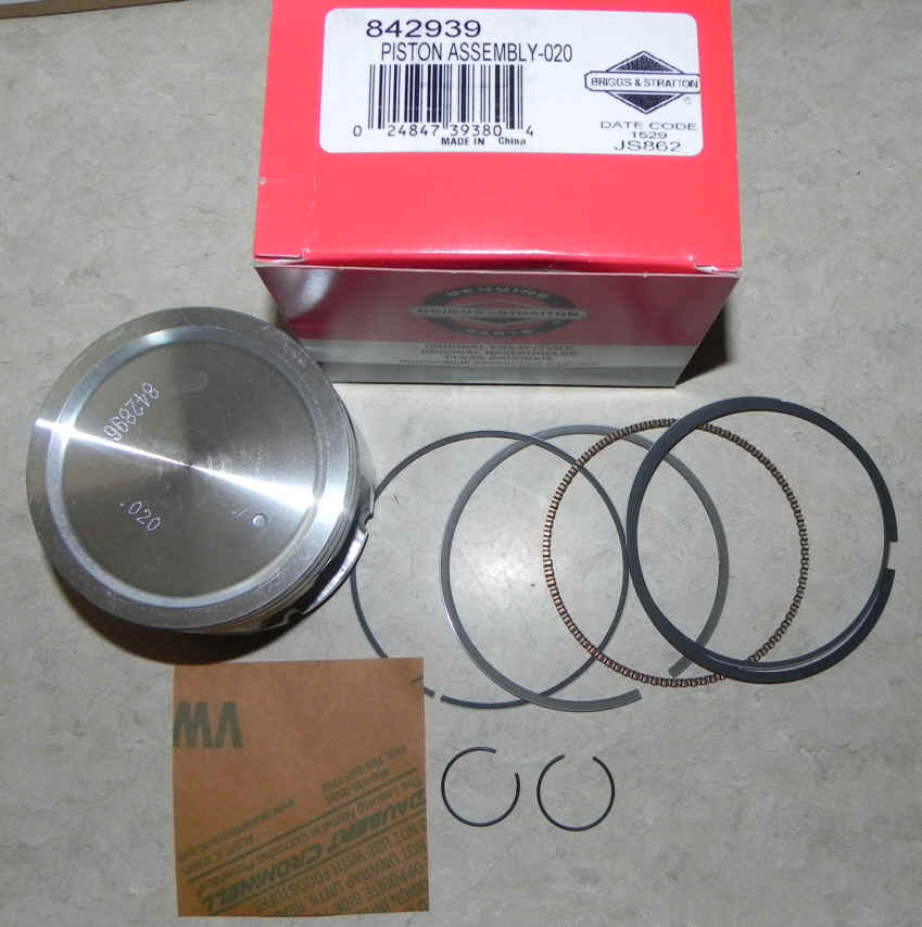 Briggs Stratton Piston Part No. 842939