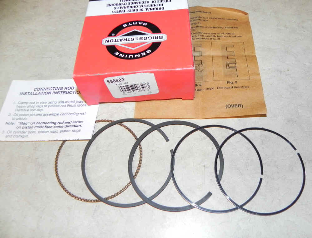 Briggs & Stratton RING SET-STD Part Number 590402