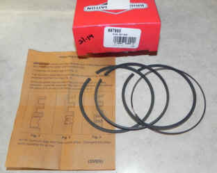 Briggs & Stratton RING SET-020 Part Number 697685