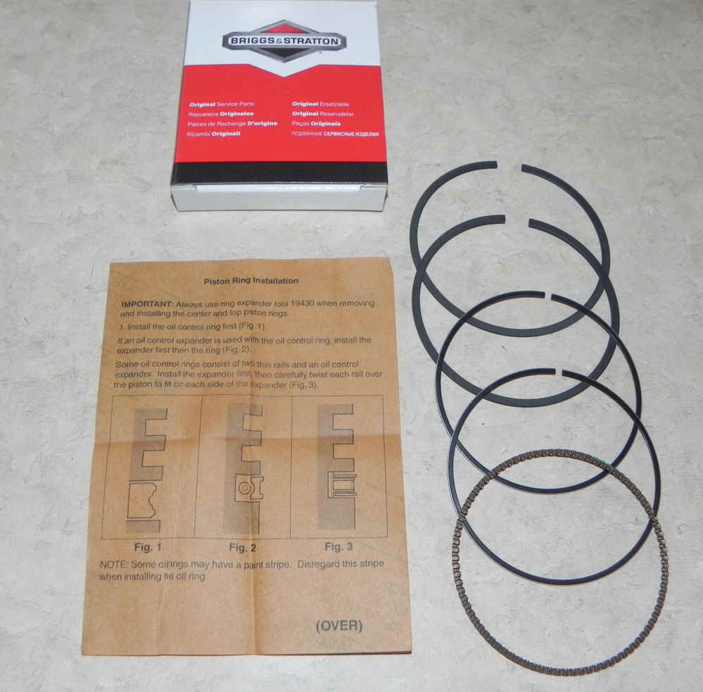 Briggs & Stratton RING SET Part Number 791787
