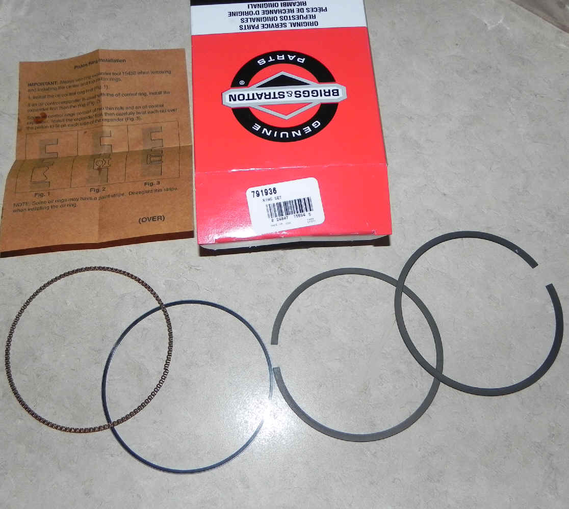 Briggs & Stratton RING SET Part Number 594437