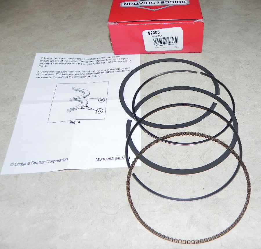 Briggs & Stratton RING SET Part Number 792306