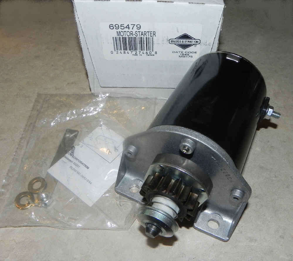 Briggs & Stratton Electric Starter Part No. 695479