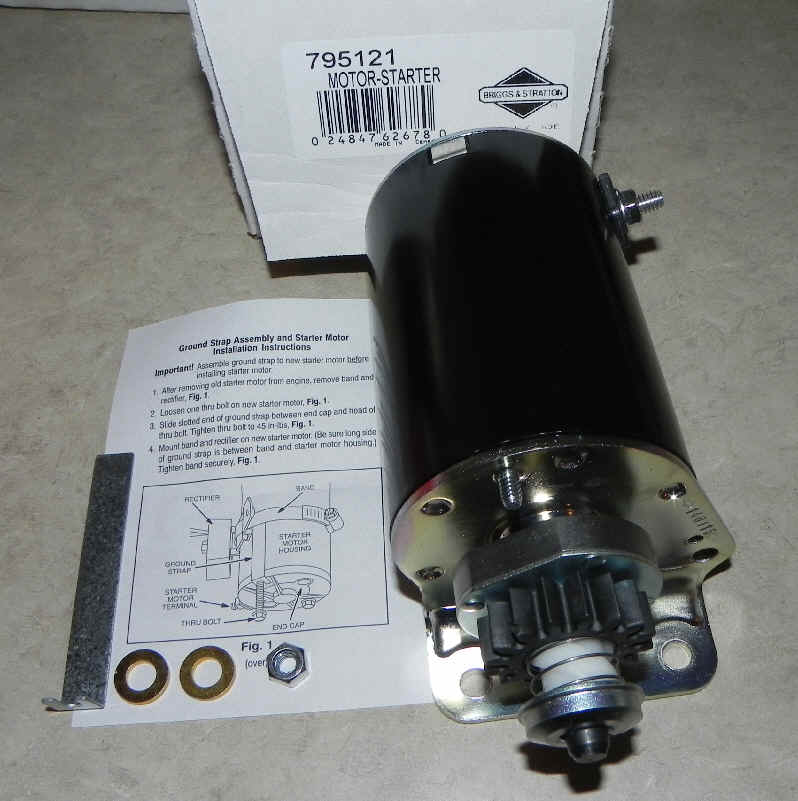 Briggs & Stratton Electric Starter Part No 795121 FKA 499521